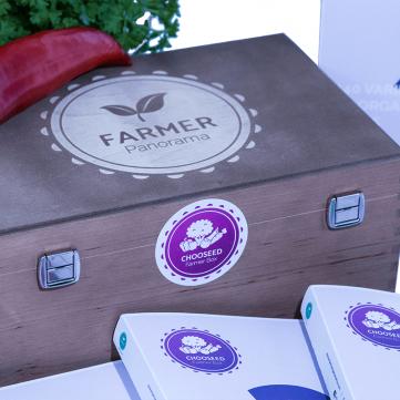 Farmer Box Echtholz