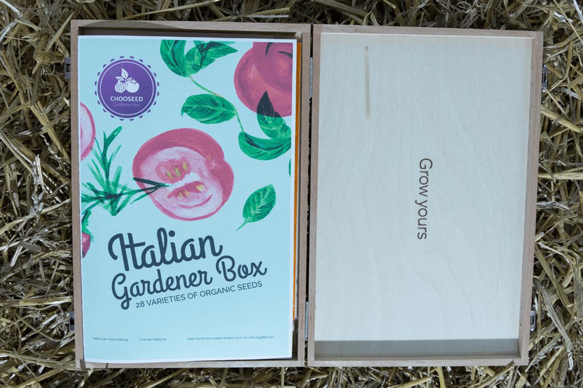 Chooseed Italian Gardener Box