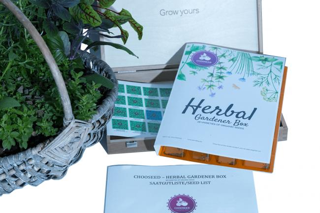Herbal Gardener Box