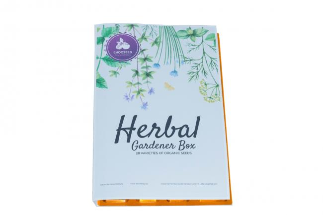 Herbal Gardener Box Blister